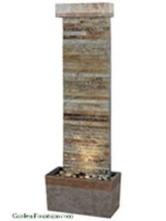 Kenroy Home Tacora Horizontal indoor/outdoor floor fountain comes in a natural slate finish with copper accents. These fountains showcase the beauty of natural slate in a variety of ways. Tabletop Fountain, Indoor Fountain, Fountain Ideas, Indoor Outdoor, Outdoor Living, Outdoor Decor, Outdoor Spaces, Outdoor Patios, Outdoor Stuff