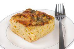 Torta Salgada de Maisena -sem gluten sem lactose