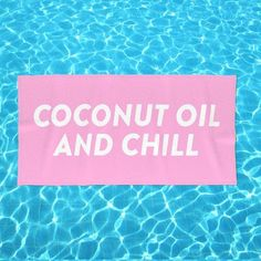 COCONUT OIL AND #CHILL!  NEW #BEACH TOWEL!!!  We've paired up with #society6 to offer you FIVE fun and fresh oversized #beachtowels just in time for #Summer! These are huge! FREE WORLDWIDE SHIPPING TILL MIDNIGHT! DON'T MISS OUT! . . . #beachtowel #oversized #beachtowels #beachday #beachready #beachlife #poolside #wanderlust #escape #sun #surf #travel #welltraveled #coconut #passionpassport #dametraveler #rbf #restingbeachface #restingbitchface #beachhair #beachhairdontcare #coconutoil…