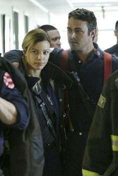 leslie shay and matt clarke | ... Leslie Shay, Taylor Kinney as Kelly Severide -- (Photo by: Elizabeth