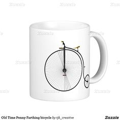 Old Time Penny Farthing bicycle Coffee Mug