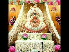 In this video, I have uploaded beautiful varalakshmi nombu decoration ideas. Panda Decorations, Housewarming Decorations, Stage Decorations, Diwali Decorations, Festival Decorations, Flower Decorations, Ganapati Decoration, Decoration For Ganpati, Mandir Decoration