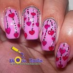 The Sparkle Queen: Our Valentine's Day Nails of 2014 WoW Nails