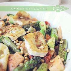 Syötävän hyvä: PARSA-VUOHENJUUSTOSALAATTI