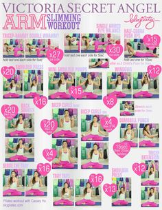 Blogilates Victoria Secret Arm Workout. This blogilate lady is kinda my hero right now!