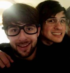 Ian Hecox and Anthony Padilla :) maybe they are nerds but they are my nerds!!! JK! They are crazy ,fun , amazing ,awsome ,creative ..should i continue? :D