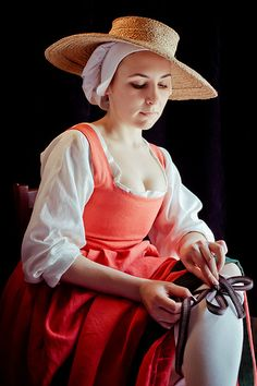 Me in renaissance flemish costume | Flickr - Photo Sharing!