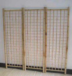 Bamboo Trellis Fence