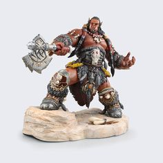 31.83$  Watch more here - http://aiqdq.worlditems.win/all/product.php?id=32689253819 - Brand New Movie Action Figure Toys Frostwolf Durotan 22cm High PVC Figure Model Toy For Collection/Gift/Kids