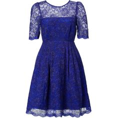 Monsoon fusion emerald dress with lace