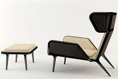 Sleek and stylish modern furniture by Cate & Nelson