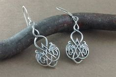 Hey, I found this really awesome Etsy listing at https://www.etsy.com/listing/260568278/celtic-dragon-earringssterling-silver