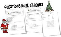 Comment fête-t-on Noël ailleurs ? C'est par ces fiches que j'ai commencé mon travail autour du monde.