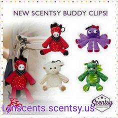New Scentsy Buddy clip