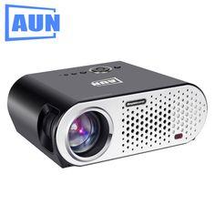 Бренд AUN проектор Встроенный беспроводной Блютуз3200 Люмен светодиодный кабель серии Т90 и HDMI  на Алиэкспресс русском языке рублях