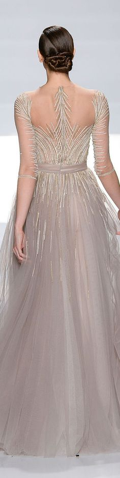 Tony Ward Couture - Summer 2013 Collection #formal #dress BACK <3
