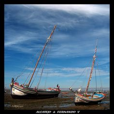 Wooden Boats, Portuguese, Sailing Ships, Europe, Sea, Country, World, Traditional, Beautiful