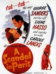 #1357. A Scandal in Paris, December, 2017. Elegant criminal, François Eugène Vidocq is born in a French jail.  Along the way, he escapes from jail with Emile, his partner in crime, poses for a portrait of St. George where Emile's face is the dragon's, poses as a lieutenant to rob a showgirl of her ruby garter, and steals the jewels of a marquise.  Appointed as chief of police of Paris, he intends to rob the city bank. When the marquise's granddaughter falls in love with him, he is changed.