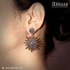 Diamond Starburst Dangle Earrings #Diamond #Starburst #Sterling #Silver #Dangle #Earrings #Fashion #Designer #Wholesale #Jewelryonsale #Manufacturer #Exporter #Diamond #Baguette #Necklace #Earring #Bangle #Ring #Jewellery #Solid #Fashion #Wedding #Handmade ABHAAS JEWELS CORP 7 West 45th Street, Suite-1501 New York, NY-10036 U.S.A WhatsApp: +91 9460292707 Tel : 212-704-4266 Email : enquiry@abhaas.com Skype: Jewelryabhaas