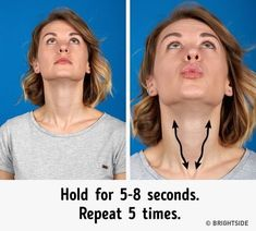 Warming upthe muscles Just like before any other workout, you'll want towarm upyour facial muscles. For this purpose, move ...