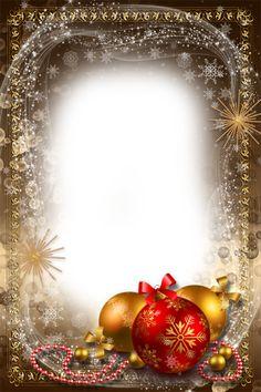 Christmas Frames, Christmas Pictures, Christmas Art, All Things Christmas, Vintage Christmas, Christmas Bulbs, Christmas Decorations, Christmas Border, Christmas Background