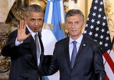nice Protestan contra Obama en Argentina