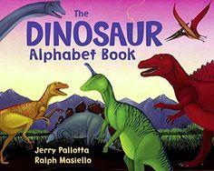 Pour les fans de dinos ! Chaque lettre et nom de dinosaure sont accompagnés d'un court paragraphe informatif. Parfait pour enrichir son vocabulaire en anglais sur ce thème.  The Dinosaur Alphabet Book, by Jerry Pallotta. Published on (March, 1991) de Jerry Pallotta http://www.amazon.fr/dp/B018KZCEXC/ref=cm_sw_r_pi_dp_VsT4wb1F0TJ6M