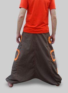 Harem Pants Aladdin Trousers Afghani Pants by manaKAmana
