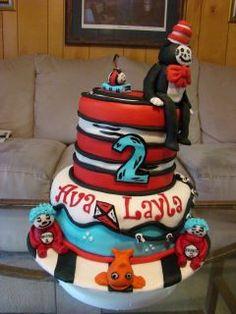 Seuss Cake by Jennifer Lashlee Hale