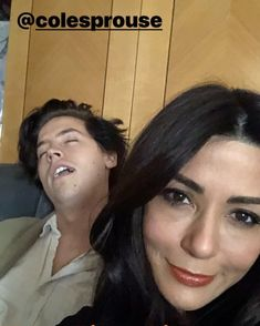 @colesprouse and @marisolnichols at #peopleconvention #riverdale #rivercon #colesprouse