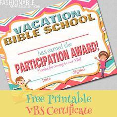 Canva orange attendance certificate mab4smmxkiwg 550425 free printable vacation bible school certificate yelopaper Gallery