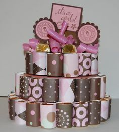 Candy Cakes- Could make it out of homemade candy.