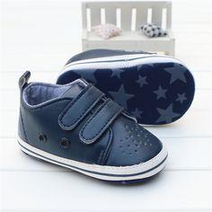 a8bb3e4db Alta qualidade de Couro Macio Sapatos de Bebê Menino Sapatos Da Criança  Infantis Crianças Sapatilhas Mocassins