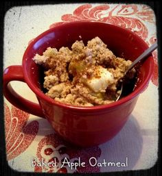 Baked Apple Oatmeal | fastPaleo Primal and Paleo Diet Recipes