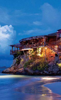 Eden Rock Hotel - St. Barts, in the Caribbean