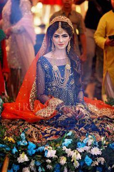 Awesome Pakistani Wedding Outfits, Pakistani Wedding Dresses, Bridal Outfits, Indian Outfits, Saris, Pakistan Bride, Pakistan Wedding, Bridal Makeover, Bridal Photoshoot