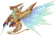 Kaiser Dragon from Breath of Fire IV