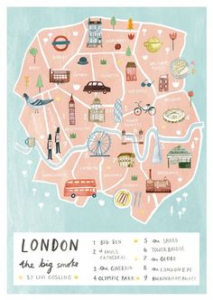 #london #londres #map