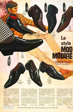 Mod shoe advertisement