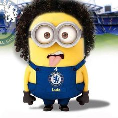 david luiz, minion HAH