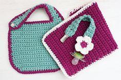 B's Baby Shower Gift Set- PDF Crochet Pattern
