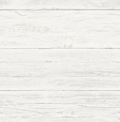"""Brewster Home Fashions White Washed Boards Ship-lap 2' x 20.5"""" Wood Wallpaper & Reviews 