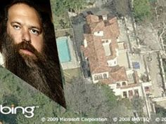 "The Mansion 2451 Laurel Canyon Blvd, Los Angeles, CA 90046 Worth around $2.2 million. Known simply as ""The Mansion,"" it is currently owned by music producer Rick Rubin (photo), who uses it as a recording and production studio where bands such as the Red Hot Chili Peppers, Audioslave, the Mars Volta , Slipknot and Linkin Park have recorded. Rumor has it that the mansion has been haunted since 1918 when the son of the owner (a furniture store owner) pushed his lover from the balcony. The ..."