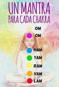 Mantras for each chakra - Modern Meditation Musik, Reiki Meditation, Mindfulness Meditation, Yoga Mantras, Power Workout, Boxing Workout, Yoga Kundalini, Yoga Chakras, Chakra Mantra