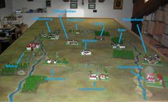 Napoleonic Wargame with 6mm (1/300 or 1/285) miniatures : Battaglia di Abensberg (1809)