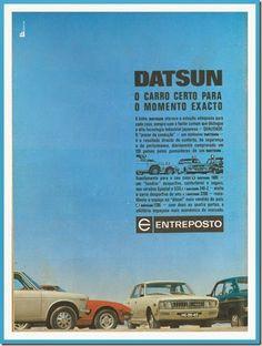 Santa Nostalgia: Datsun – O carro certo para o momento exacto