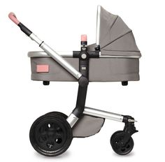 Joolz Day Tailor Grey Black wheels Old pink COT HR Joolz bringing world first, customisable stroller to Australia