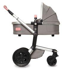 Joolz Day Tailor Grey Black wheels Old pink COT HR Joolz bringing world first, customisable stroller to Australia