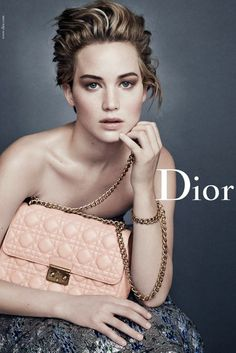 LITERALLY..... SHE'S THE MOST BEAUTIFUL PERSON. Details on Jennifer Lawrence's Dior campaign