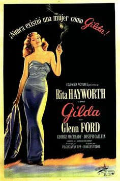 Classic Movie Posters: Gilda, 1946